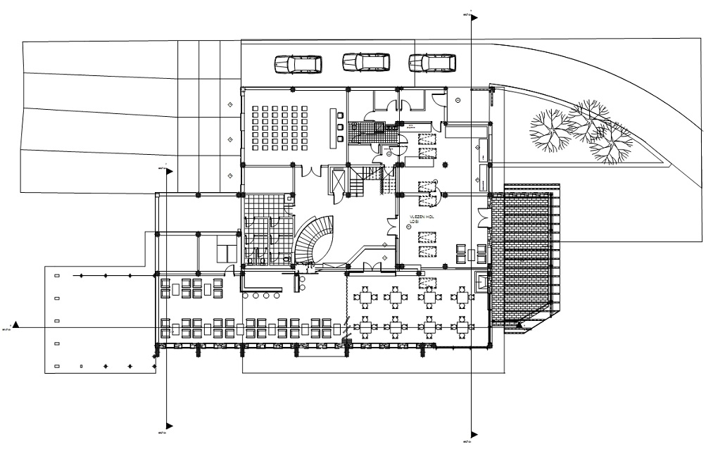 Residence Hotel Shara floor plan